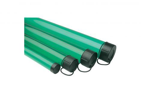 Leeda 2.5 inch X 6ft Rod Tube - Green