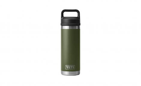 Yeti Rambler 18oz bottle with chug cap - Highlands Olive