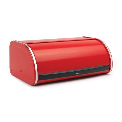 Brabantia Roll Top Bread Bin - Passion Red