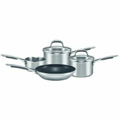 Circulon Select stainless Steel saucepan set