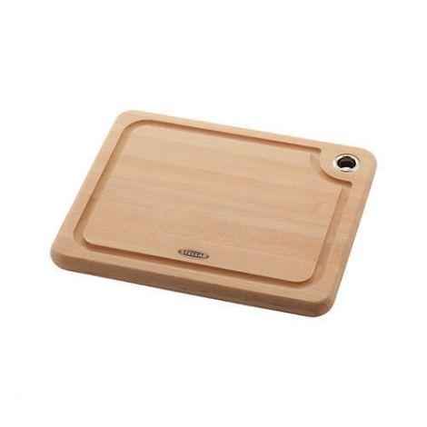 Stellar 35 x 27 x 2cm Beech Cutting Board