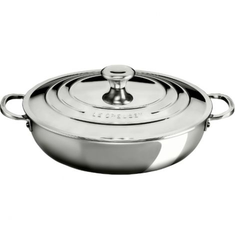 Le Creuset Signature Stainless Steel Shallow Casserole 30cm