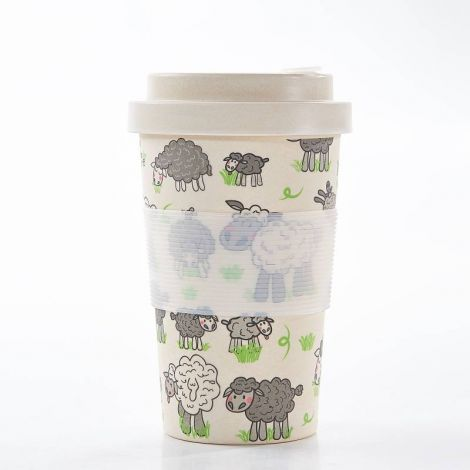 Eco Chic Sheep Design Coffee Mug