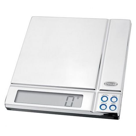 Stellar Slimline Digital Kitchen Scales - 5kg / 11lb