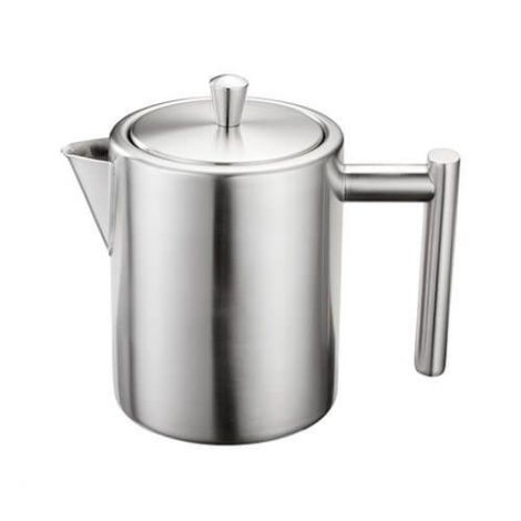 Stellar Stainless Steel Oslo 3 Cup Teapot 600ml
