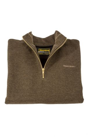Snowbee 1/4 Zip Country Sweater
