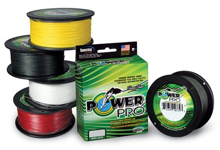 Power Pro Microfilament Braided Fishing Line 275m