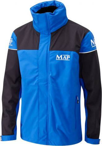 MAP 3/4 Length Jacket Blue And Black