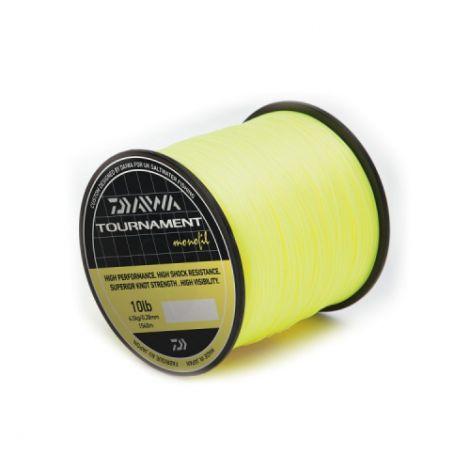 Daiwa Tournament Monofil Bulk Spool Yellow: 20lb