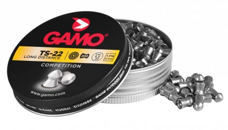 Gamo TS-22 Long Distance .22 (200) Pellets Airgun Air Rifle Pistol Ammo