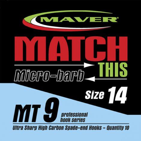 Maver Match This Hooks - MT 9 - Micro Barb