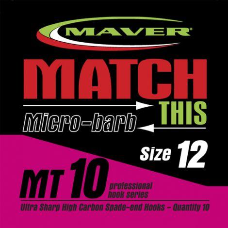 Maver Match This Hooks - MT 10 - Micro Barb