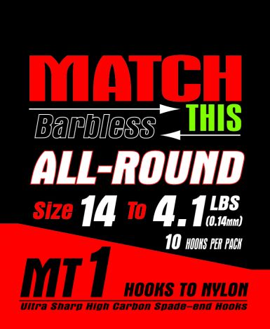 Maver Match This Hooks to Nylon - MT 1 - All Round