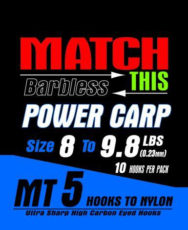 Maver Match This Hooks to Nylon - MT 5 - Power Carp