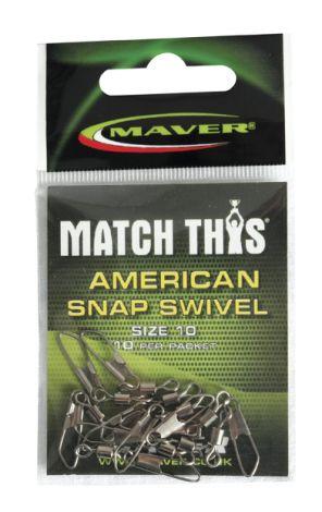Maver American Snap Swivel Size 12