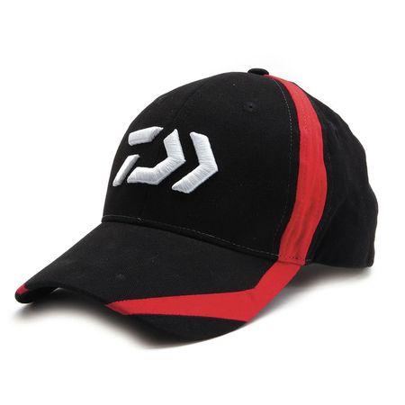 Daiwa Cap 3 Black/Red Flash