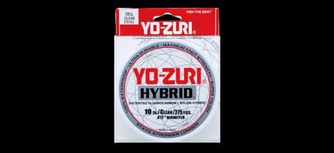 Yo-Zuri Hybrid Patented Flurocarbon 275yd
