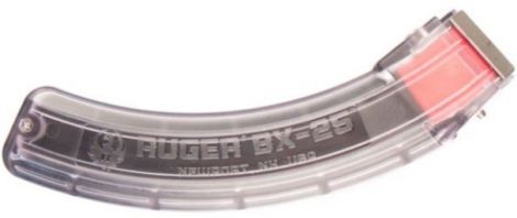 Ruger BX-25 25 Round Clear Sided Magazine